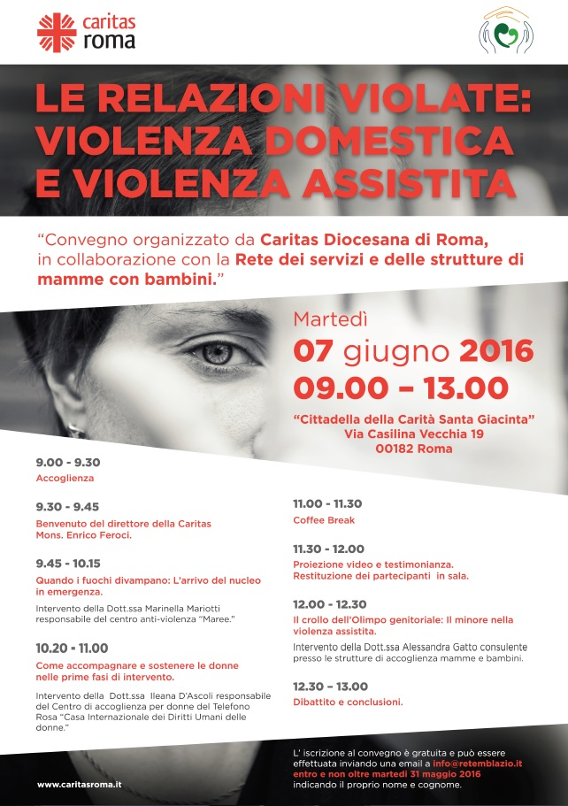 """""""Le relazioni violate: violenza domestica e violenza assistita"""""""
